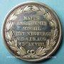 Monnaies Alsace. Ensisheim. Balde Jacob (1603-1668). Médaille argent, 40,8 mm. Gravée par Neuss
