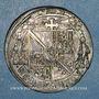Monnaies Alsace. Evêché de Strasbourg. Charles de Lorraine (1592-1607). Teston 1605