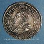 Monnaies Alsace. Evêché de Strasbourg. Charles de Lorraine (1592-1607). Teston 1606 S. Saverne