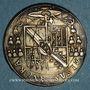Monnaies Alsace. Evêché de Strasbourg. Charles de Lorraine (1592-1607). Teston n. d.