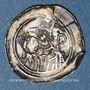 Monnaies Alsace. Evêché de Strasbourg. Epoque des Hohenstaufen (1138-1284). Denier. Molsheim vers 1190-1220