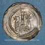 Monnaies Alsace. Evêché de Strasbourg. Epoque des Hohenstaufen (1138-1284). Denier. Strasbourg vers 1230-1250