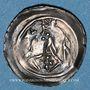 Monnaies Alsace. Evêché de Strasbourg. Epoque des Hohenstaufen (1138-1284). Denier vers 1230-1250