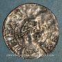 Monnaies Alsace. Evêché de Strasbourg. Henri II, roi (1002-1014). Denier
