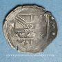 Monnaies Alsace. Evêché de Strasbourg. Jean de Manderscheid (1569-1592). Pfennig 1573. Molsheim ou Saverne