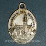 Monnaies Alsace. Friesenheim. Souvenir de Notre Dame de Neunkirch (fin 19e–début 20e). Médaille laiton arg.
