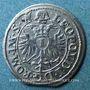 Monnaies Alsace. Haguenau. 1 kreuzer 1669