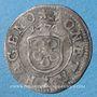Monnaies Alsace. Haguenau. 1 kreuzer 1670