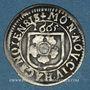 Monnaies Alsace. Haguenau. 2 kreuzers 1665