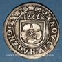 Monnaies Alsace. Haguenau. 2 kreuzers 1666