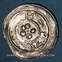 Monnaies Alsace. Haguenau. Denier (pfennig) (vers 1220-1250)
