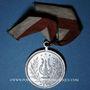 Monnaies Alsace. Morschwiller le Bas. Chorale Alsatia. Consécration du drapeau 1908. Médaille aluminium
