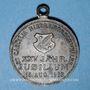 Monnaies Alsace. Morschwiller le Bas. Chorale Ste Caecilia - 25e anniversaire. 1903. Médaille cuivre. 28,5 mm