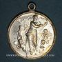 Monnaies Alsace. Morschwiller le Bas. Chorale Ste Caecilia - 25e anniversaire. 1903. Médaille laiton argenté
