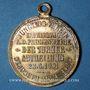 Monnaies Alsace. Mulhouse. 1er tournoi de gymnastique du Haut-Rhin. 1901. Médaille br argenté