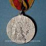 Monnaies Alsace. Mulhouse. 1er tournoi de gymnastique du Haut-Rhin. 1901. Médaille en laiton. 29 mm