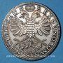 Monnaies Alsace. Mulhouse. 20e anniversaire du Cercle Numismatique. 1987. Médaille en argent. 40 mm