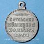 Monnaies Alsace. Mulhouse. Cavalcade. 1891. Médaille en étain. 29 mm