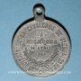 Monnaies Alsace. Mulhouse. Cavalcade de bienfaisance. 1884. Médaille en étain. 28,86 mm