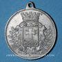 Monnaies Alsace. Mulhouse-Dornach. Concours de gymnastique. 1904. Médaille aluminium. 30 mm