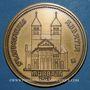 Monnaies Alsace. Murbach. Association des amis de Murbach. 1979. Médaille bronze 50,4 mm