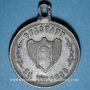 Monnaies Alsace. Pfastatt. Fête de la musique. 1890. Médaille plomb. 29 mm