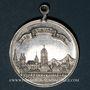 Monnaies Alsace. Sélestat. 1ère fête populaire. 1894. Médaille aluminium. 33,30 mm