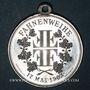 Monnaies Alsace. Soultz. Tournoi de gymnastique. 1903. Médaille. Aluminium. 30,4 mm