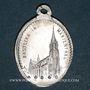 Monnaies Alsace. Souvenir de Notre Dame de Marienthal (19e siècle). Médaille aluminium. 15,94 x 22,41 mm