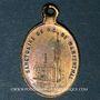 Monnaies Alsace. Souvenir de Notre Dame de Marienthal (19e siècle). Médaille laiton. 12,94 x 20,35 mm