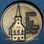 Monnaies Alsace. Strasbourg. 100e anniversaire de la création du chœur St Guillaume 1885-1985. Médaille br.