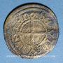 Monnaies Alsace. Strasbourg (14e-15e s). Vierer. Imitation indéterminée du monnayage strasbourgeois en billon