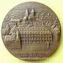 Monnaies Alsace. Strasbourg. 150e anniversaire de la création de la Chambre de Commerce 1953. Médaille bronze