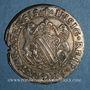 Monnaies Alsace. Strasbourg (17e siècle). 1/4 taler aux lions
