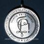 Monnaies Alsace. Strasbourg. 40e anniversaire de l'association d'étudiants Palatia. 1913. Médaille aluminium