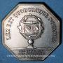 Monnaies Alsace. Strasbourg. 73e congrès des notaires de France. 1976. Jeton argent. 33 mm