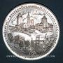 Monnaies Alsace. Strasbourg. Bimillénaire. 1988. Médaille argent. 60 mm