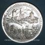 Monnaies Alsace. Strasbourg. Bimillénaire. 1988. Médaille. argent. 60 mm