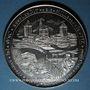 Monnaies Alsace. Strasbourg. Bimillénaire. 1988. Médaille argent. Exemplaire numéroté. 60 mm