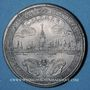 Monnaies Alsace. Strasbourg. Cercle Numismatique d'Alsace. 5e anniversaire. 1931. Médaille étain. 45 mm