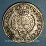 Monnaies Alsace. Strasbourg. Cercle Numismatique d'Alsace. 6e anniversaire. 1932. Médaille étain argenté