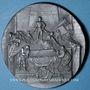 Monnaies Alsace. Strasbourg. Cercle Numismatique d'Alsace. 7e anniversaire. 1933. Médaille plomb. 60 mm