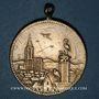Monnaies Alsace. Strasbourg. Ch. Latscha. 1895. Médaille laiton. 28,48 mm