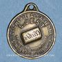 Monnaies Alsace. Strasbourg. Clicherie Alsacienne L. Jest. Médaille. Laiton uniface
