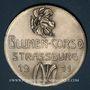 Monnaies Alsace. Strasbourg. Comtesse Stéphanie de Wedel – Corso fleuri. 1911. Médaille bronze argenté.