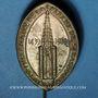 Monnaies Alsace. Strasbourg. Demi-millénaire de la flèche de la cathédrale de Strasbourg 1939. Insigne laiton