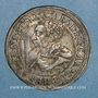 Monnaies Alsace. Strasbourg. Evêché. Charles de Lorraine (1592-1607). Teston 1605