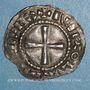 Monnaies Alsace. Strasbourg - Evêché. Charles le Simple (898-923). Denier