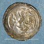 Monnaies Alsace. Strasbourg. Evêché. Epoque des Hohenstaufen (1138-1284). Denier vers 1230-1250