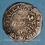 Monnaies Alsace. Strasbourg. Evêché. Jean de Manderscheid (1569-1592). 2 kreuzers 1576. Molsheim